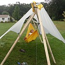 Beckyinmas' DIY TL tripod and Cat Tarp by Beckyinma in Homemade gear