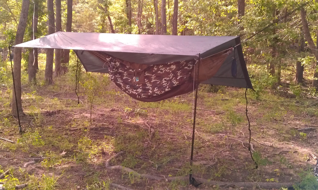 My Hammock Setup At Cave Run Lake