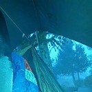 2nd hang 8600 ft. altitude 43 deg f by hooked up in Hammock Landscapes