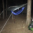 Setup at 1:00am after night hiking in 3 miles by GHang in Hammocks