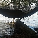 Niagara river base camp by LuvmyBonnet in Hammocks