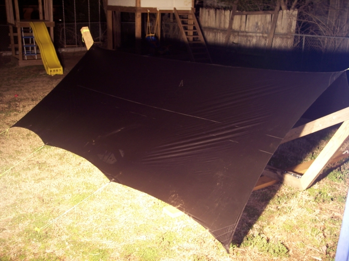 10X12 Cathedral Cat Tarp