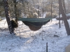 Midwinter Camp 2012 by Tjalling in Hammocks