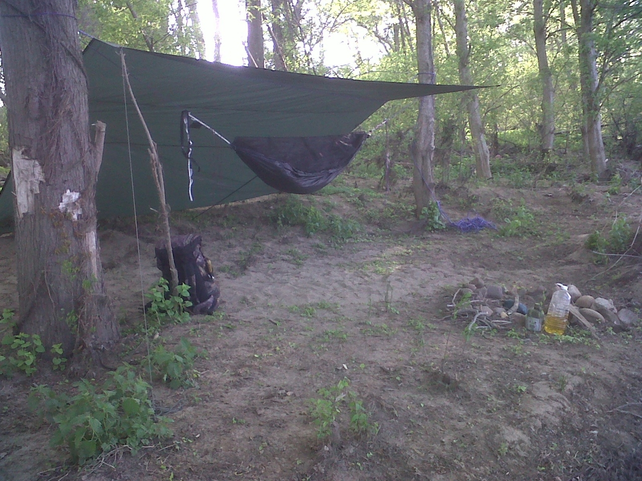 Hammock Camping Photos