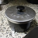 Grease cooking pot