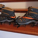 Crampons on Keen boots by mistone in Other Accessories not listed