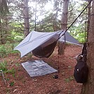 DIY Hammock set-up