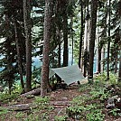 PCT at Mirror Lake (WA) 2014 by Ratatouille in Hammocks