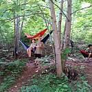 First Year scouts in hammocks by dudeman_atl in Hammocks