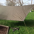 Playing with the Hennessy Hex Tarp in the Back Yard by outlan in Tarps