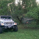 Jeep camping