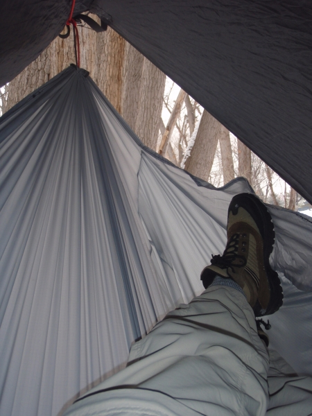 Homemade Hammock And Tarp
