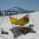 Beach hangin' at Sandestin Beach in FL by Hammockmadness in Hammock Landscapes