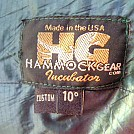 Hammock Gear Incubator 10* tag by MountainMan1 in Hammocks