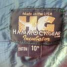 Hammock Gear Incubator 10* tag by MountainMan1 in Hammocks