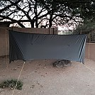 11 foot silnylon tarp made for HF member by Randerson in Tarps