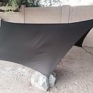 DIY hex tarp