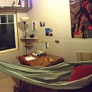 My hammock in my man-cave by lonepeakgeek in Homemade gear