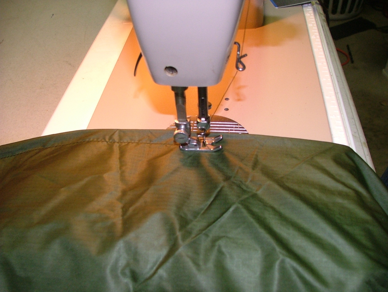 A Tarp In The Making