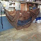 First DIY camping hammock by medic22733 in Homemade gear