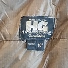 Hammock Gear quilts (Burrows and Incubators)