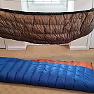 Hammock Gear quilts (Burrows and Incubators) by novasquid in Topside Insulation