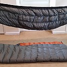 Hammock Gear quilts (Burrows and Incubators)