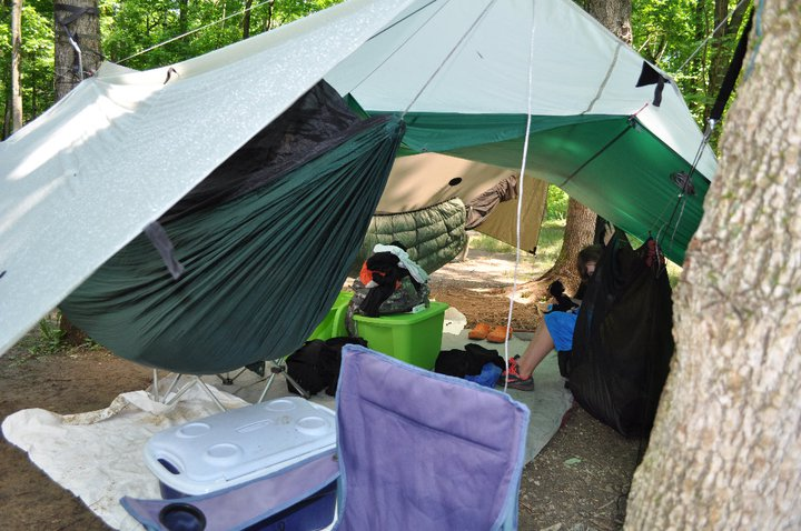 Sugarcreek Metropark 2011 Ash Camp
