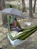 Laying In The Traveler With An Ix Underquilt And Snow Peak Umbrella