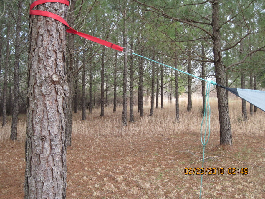Diy Tarp Ridge Line