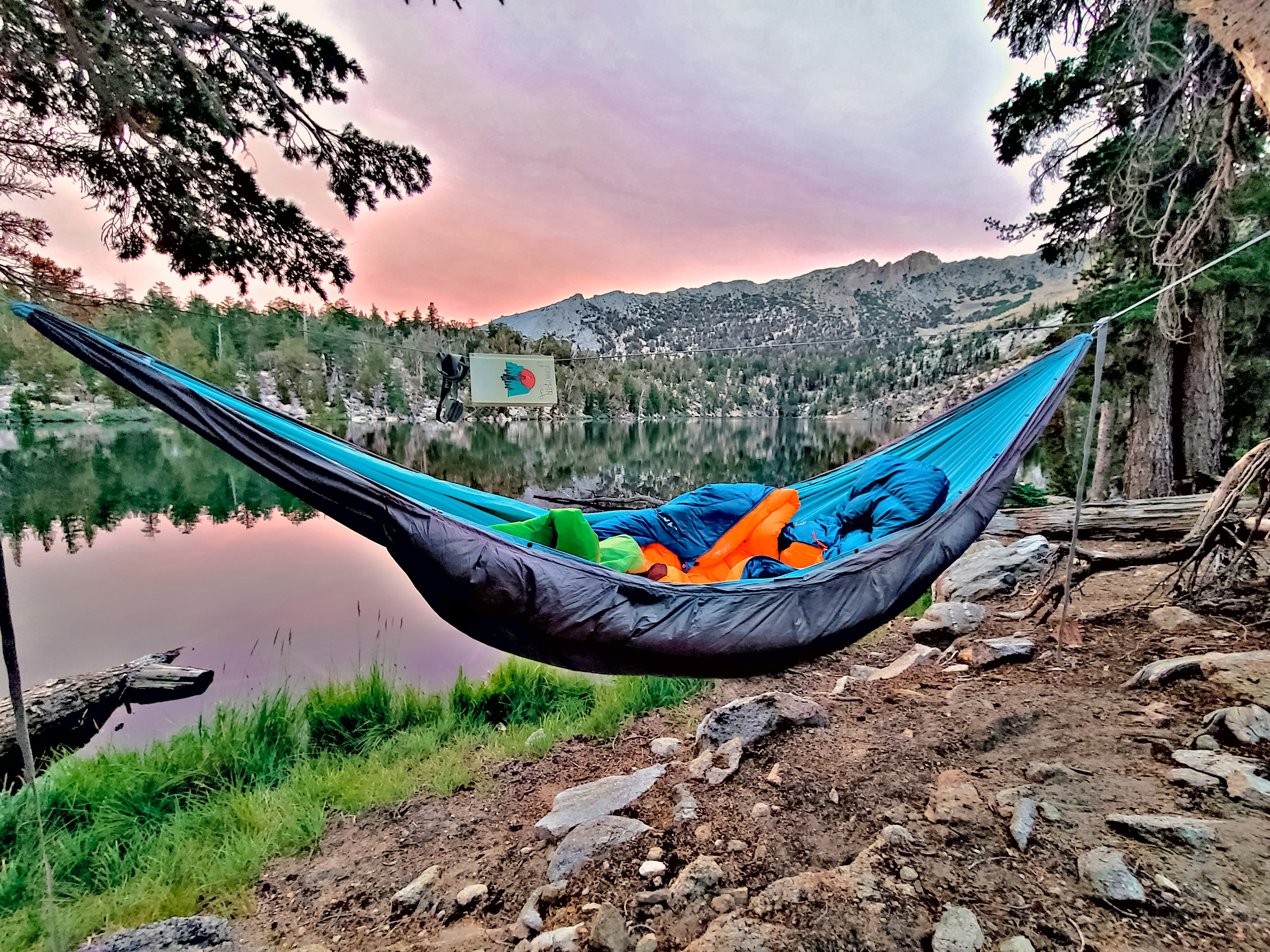 A Superior Hammock in the Wild!