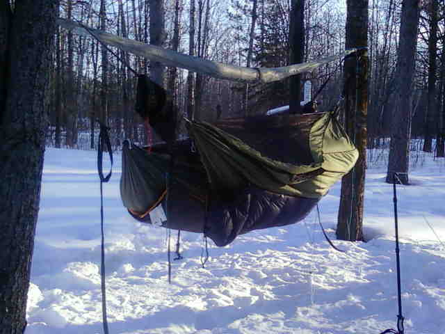 Winter Camping With Our Blackbirds