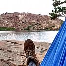 Day hammock at Penner Lake, CA