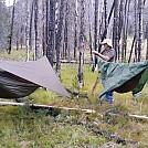 First Night's Camp by BBQDad in Hammocks