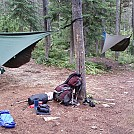 Second and Third Night Campsite by BBQDad in Hammocks