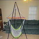 Chair Hammock Stand by mheinze in Images for homemade gear forums directions