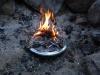 Twiggy Fire On Banks Fry-bake Pan