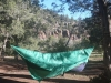 Eno Doublenest With Diy Sock At Flowing Springs Camp Near Payson, Arizona by hikingjer in Hammock Landscapes