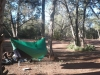 Eno Doublenest With Diy Sock At Flowing Springs Camp Near Payson, Arizona