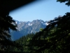 View Of Pyramid Peak Area From Under Tarp At Pierce Mtn Camp