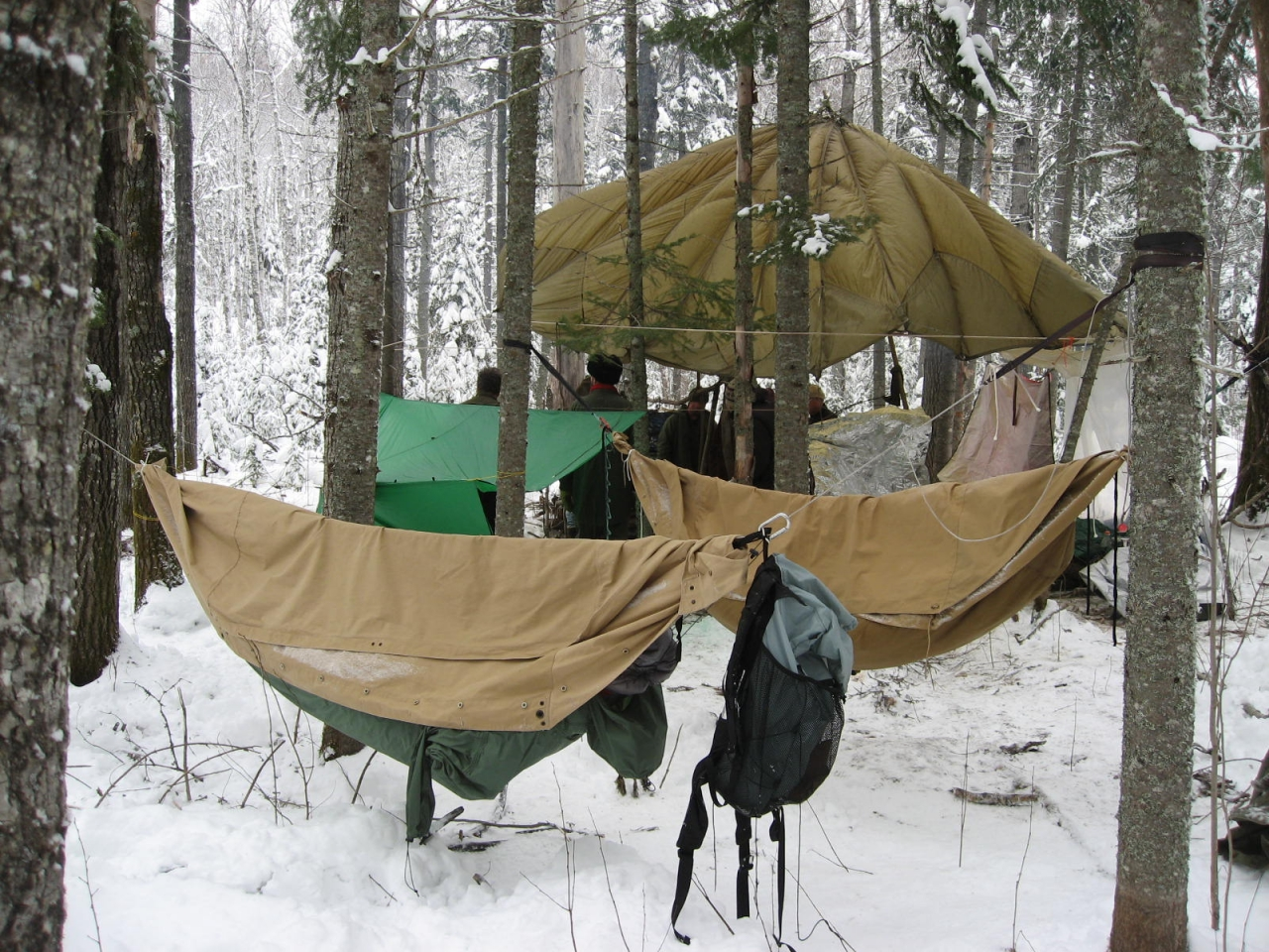 Bushcamp Gunflint Nov2010