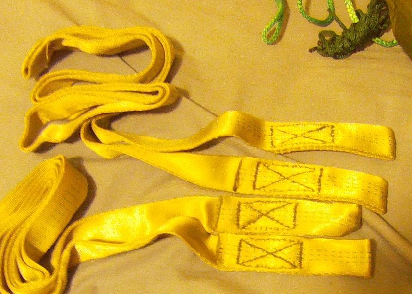 Treestrap Hand Stitch Detail