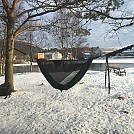 Urban hammock lounging by Snusovic in Hammock Landscapes