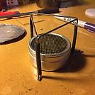 UL Pot Stand & Starlyte Stove by MikekiM in Homemade gear