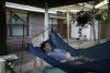 Bridge hammock lounger