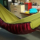 CDT Modular - Mounted by sqidmark in Underquilts and PeaPods