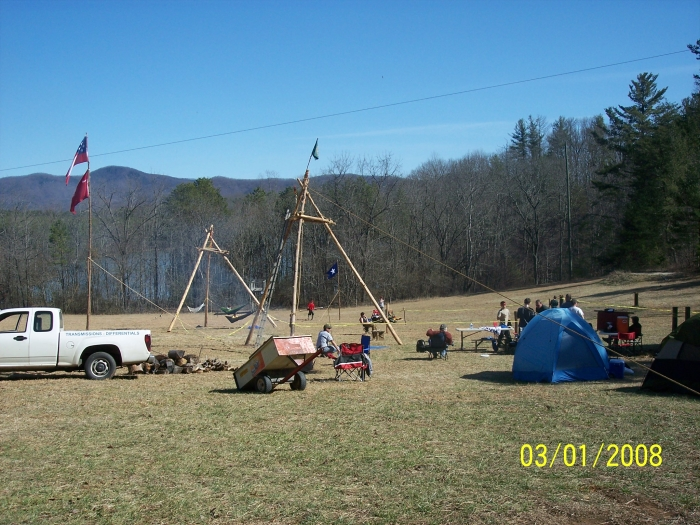 Tripods Camp Grimes