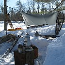 Winter Hammock Camp