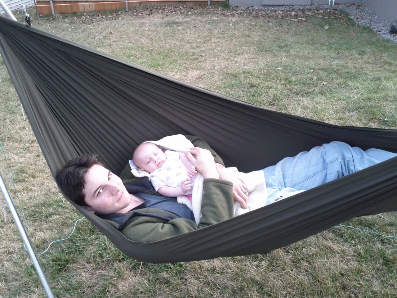 Babies Love Hammocks Too!