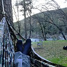 Hanging at Lumsden Bridge by Scarecrow in Hammock Landscapes